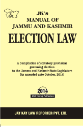 Manual Of Jammu And Kashmir Election Law