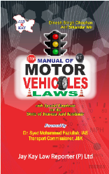 Manual Of Motor Vehicles Laws In Jammu And Kashmir
