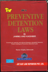 Preventive Detention Laws In J&K