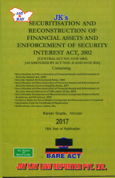 Securitisation and Reconstruction of Financial Assets and Enforcement of Security Interest Act, 2002 [SARFAESI]