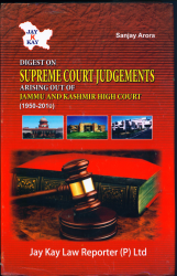 Digest On Supreme Court Judgments