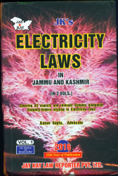 Electricity Laws In J&K [In 2 Vols.]