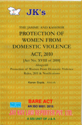Protection Of Women From Domestic Violence Act, 2010 Alongwith Rules, 2011