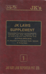 JK Laws Supplement In 2 Vols.