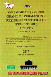 Grant of Permanent Resident Certificate (Procedure) Act, 1963