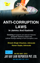Anti-Corruption Laws In Jammu And Kashmir