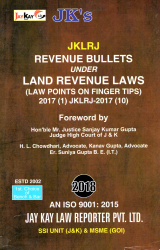 Revenue Bullets Under Land Revenue Laws (Law Points on Finger Tips)