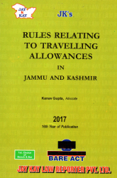 Rules Relating To Travelling Allowances In Jammu And Kashmir