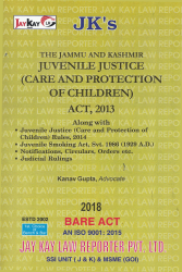 Juvenile Justice (Care And Protection Of Children) Act, 2013