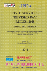 Civil Services (Revised Pay) Rules, 2018 In Jammu & Kashmir