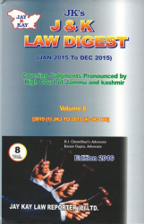 J&K Law Digest-Vol. 8