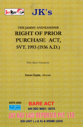Right Of Prior Purchase Act, Svt. 1993 (1936 A.D.)
