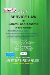 Service Law In J&K In-2 Vols