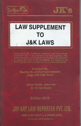 Law Supplement To J&K Laws
