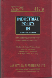 Industrial Policy In Jammu And Kashmir