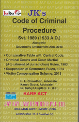 Code Of Criminal Procedure Svt. 1989 (1933 A.D.)