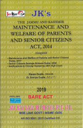 Maintenance And Welfare Of Parents And Senior Citizens Act, 2014