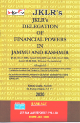 Delegation Of Financial Powers In J&K